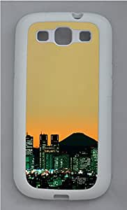 Samsung Galaxy S3 I9300 Cases & Covers - Tokyo Mount Fuji Custom TPU Soft Case Cover Protector for Samsung Galaxy S3 I9300 - White