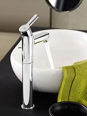Grohe Lineare Ref 19409000 montaje en pared Grifo de lavabo Cuerpo liso  S