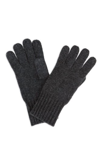 Fishers Finery Womens 100% Pure Knit Ultra Plush Cashmere Gloves Ribbed Cuff