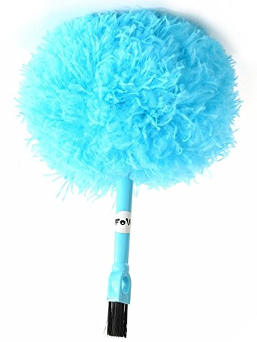 FoVo Microfiber Delicate Duster Two Ends Keyboard Computer Oa Devices Telephone Kitchen Cleaning Brush