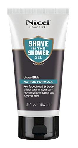 Nicel Men's Shave in the Shower Gel, 5 oz. by Nicel