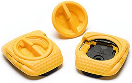 4deecb9c4 Amazon.com   SpeedPlay Zero Aero Walkable Cleats  Yellow   Sports   Outdoors