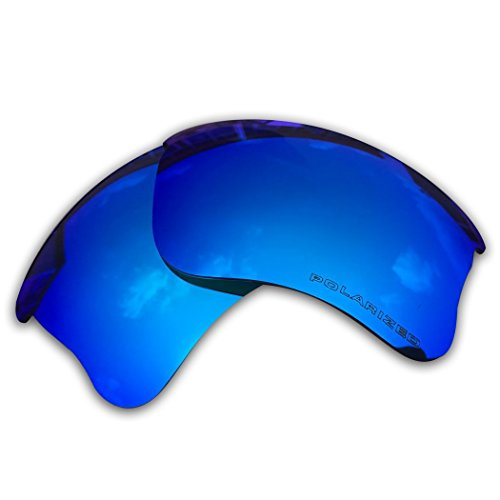 Owants Replacement Lenses for Your Oakley Flak Jacket XLJ Sunglasses Frames - Multiple Colors Availble (Ice - Oakley Lenses Flak Polarized