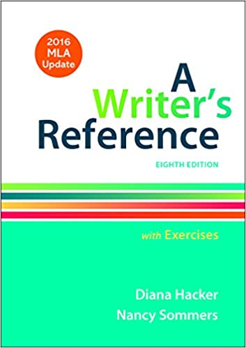 Amazon A Writers Reference With Exercises With 2016 MLA Update