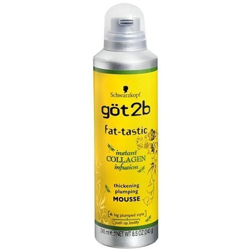 Got2b Fat-tastic Thickening Plumping Mousse, 8.5-Ounce by Got2b [Beauty] by Got2b