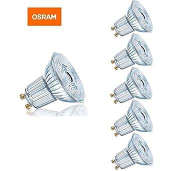 Osram GU10 - Bombilla LED regulable de 5,9 W y 59 lm, 50 W, ...