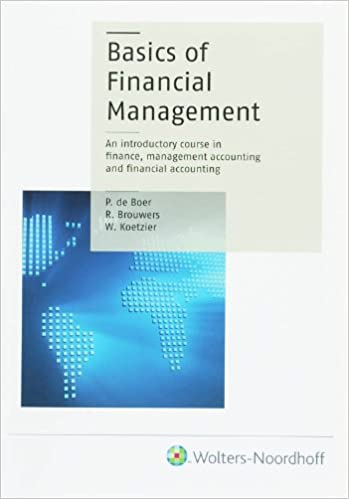 The Basics of Financial Management: An introductory course in finance, management accounting and financial accounting