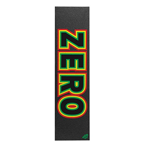 Zero Mob Grip Single Sheet Rasta Bold Skateboarding Grip tape by Zero