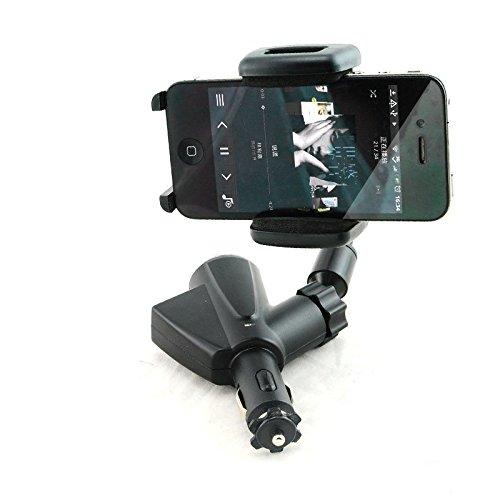- Denshine Dual USB Car Cigarette Lighter Socket Charger Mount Holder For Cell Phone iPhone