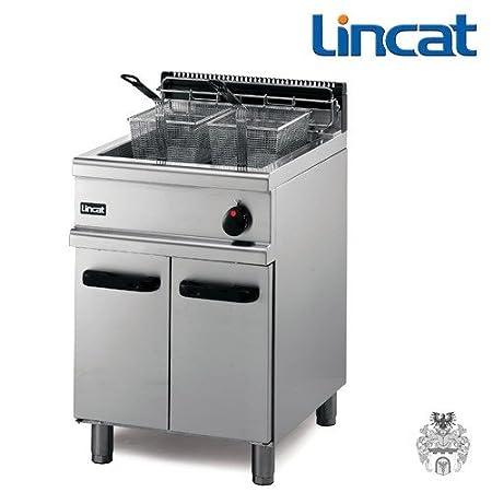 Lincat FriFri de gas fritura 20 L 32 kW Stand de freidora: Amazon ...