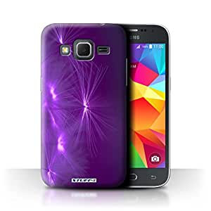 STUFF4 Phone Case / Cover for Samsung Galaxy Core Prime / Purple Design / Life Light Collection