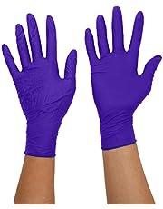 SUPERMAX 9377 A7 Aurelia Sonic 200 Nitril handskar, pulverfria, medium, blå (200 stycken)