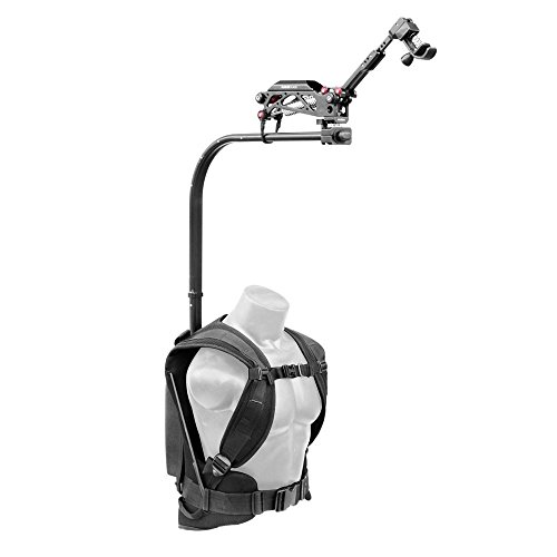(FLYCAM Flowline Professional Stabilizer Body Support Rig System with Placid Stabilizing 2-Axis Spring Arm for DSLR Video Camera Camcorders up to 7.5kg/16.5lb (FLCM-FLN-PA))