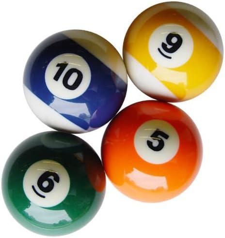Sterling Bolas de Billar de Repuesto de Plata de Ley, 4 Bolas: Amazon.es: Deportes y aire libre