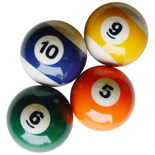 Sterling Replacement Billiard Balls - 4 Ball - Individual Pool Balls
