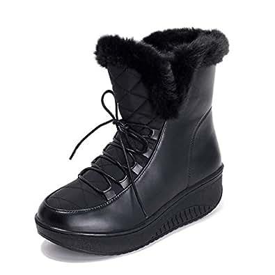 Amazon.com   SaraIris Women Winter Warm Fur Rubber Sole