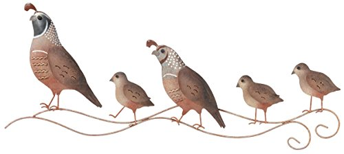 Regal Art & Gift Quail Wall (Southwest Metal Art)