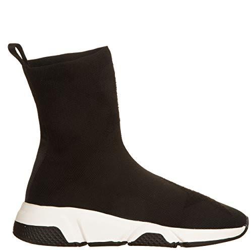 De Para 36 Negro Zapatos Cordones Vialescarpe Mujer pqU54