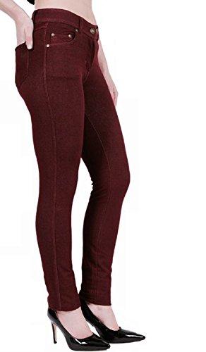 Momo Donna Fashions Jeans Wine amp;ayat TarqT