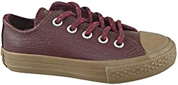 Chuck Taylor All Star Boy's Sneakers Dark Sangria-Red