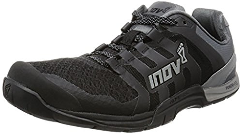 Inov8 Men's F-Lite 235 V2 Cross-Trainer Shoes Black/Grey M12 & Visor Bundle