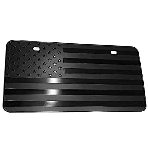 black cover for license plate