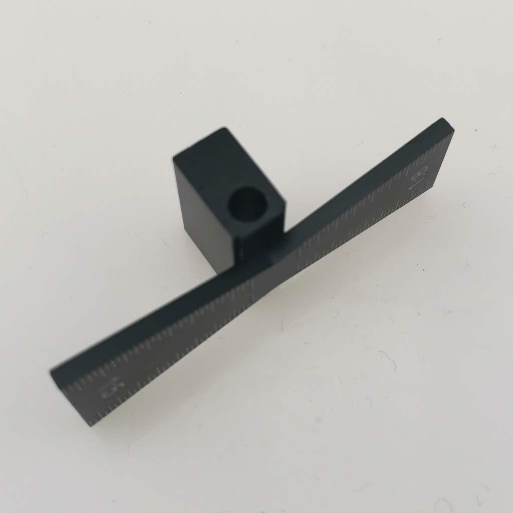 kesoto Schwalbenschwanz Hals Schablone Marker perfekt f/ür Hobby Holzarbeit 1:5 1:8 aus Edelstahl