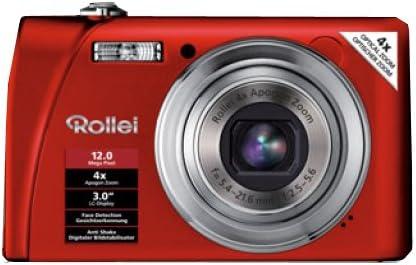 Rollei Flexline 200 Digitalkamera 3 Zoll Rot Kamera