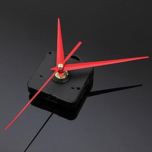 Mecanismo de movimiento del reloj de cuarzo – reloj de pared – Kit de Reloj – Movimiento de reloj – Mecanismo de reloj – DIY rojo triángulo manos reloj de pared de cuarzo mecanismo de movimiento: Amazon.com.mx: Hogar y Cocina