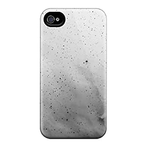 New Cute Funny White Black Space Cases Covers/ For Apple Iphone 4/4S Case Cover s