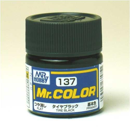 Mr.カラー C137 タイヤブラック