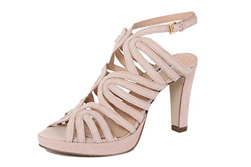Arnaldo Toscani FEMME - sandale à talon en cuir - 8010706_ROVESCIATO_QUARZO_TS