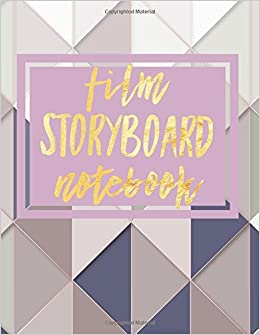 amazon com film storyboard notebook filmmaking handbook text book