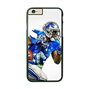 NFL Case Cover For HTC One M8 Black Cell Phone Case Detroit Lions QNXTWKHE1564 NFL Custom Fashion Phone Cases