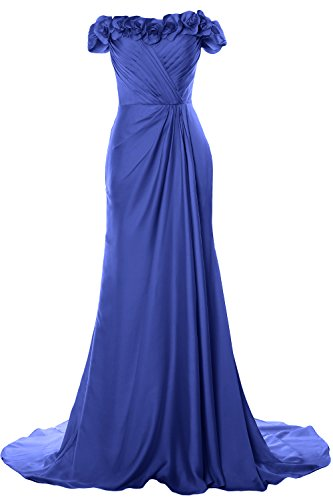 Evening Flowers Long Shoulder Off Horizon Prom MACloth Gown Dress 2018 Women with Formal 6qzIxSpXwS