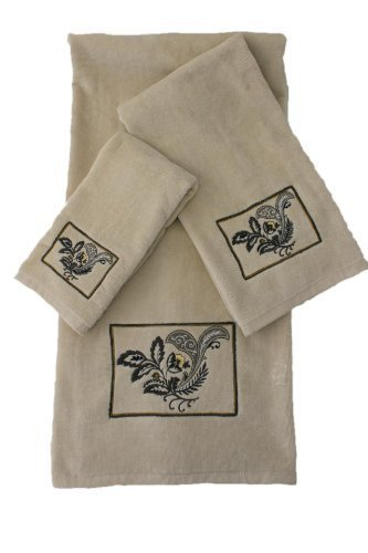 Sherry Kline Findlay 3-piece Towel Set by Sherry Kline Decorative Towel