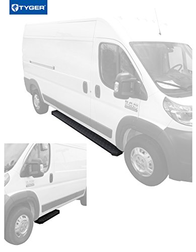 Tyger Auto TG-RB2D1103B Running Boards for 14-19 Dodge Promaster 136