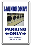 Laundromat Sign | Indoor/Outdoor | Funny Home Décor for Garages, Living Rooms, Bedroom, Offices | SignMission Dryer Laundry Gift Washing Drying Coin Sign Wall Plaque Decoration
