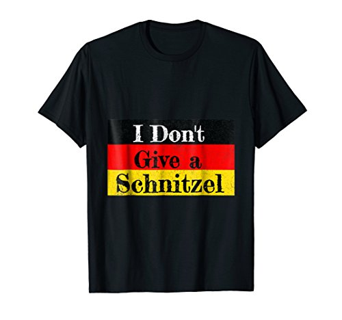 German Oktoberfest T-Shirt I Funny Schnitzel Lover Tee