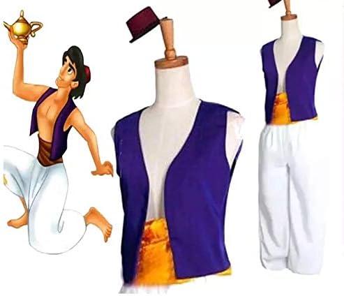thematys Set de Disfraces de Aladdín 3 Piezas para Hombre ...