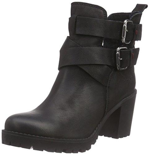 Wrangler Camden Moon Belt Damen Combat Boots Schwarz (62 Black)