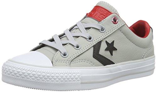Converse Star Player Zapatillas, Unisex Adulto Gris (Ash Grey/Black/Casino)