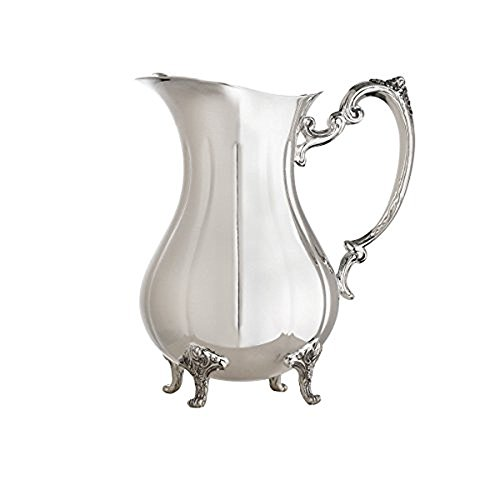 Footed Water Pitcher - 1
