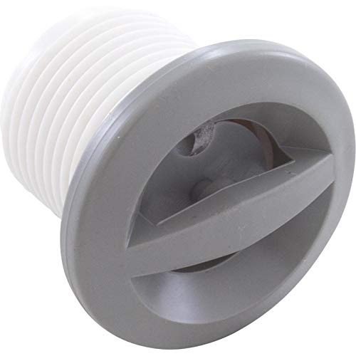 Waterway Plastics 806105036018 Gray Spa Ozone Cluster Jet Internal Smooth Face Front Access Pulsator ()