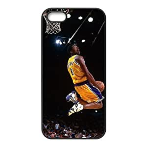 iphone 5 5s Cell Phone Case Black Kobe Bryant_007 Gift P0J0Z3-2403045