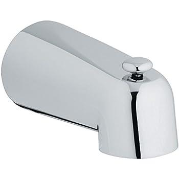 5 In Diverter Tub Spout Tub Filler Faucets Amazon Com