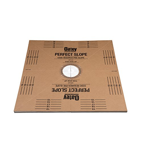 Find Bargain OATEY 41640 40 x 40 Tile Shower Pre-Slope
