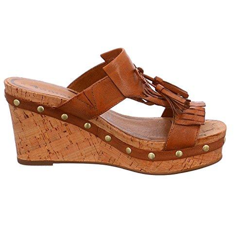 Tamaris 1-1-27220-36/440 - Zuecos para mujer marrón marrón 36 marrón
