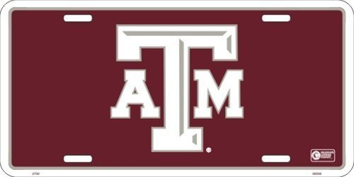 Texas A&M Aggies Aluminum Auto License Plate Car Truck Tag Metal Sign New