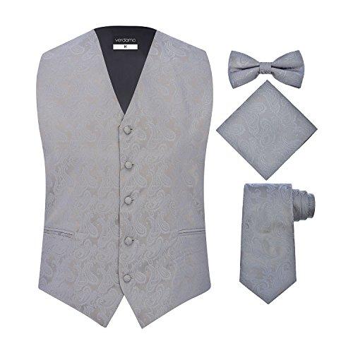 Gray Mens Vest - 8